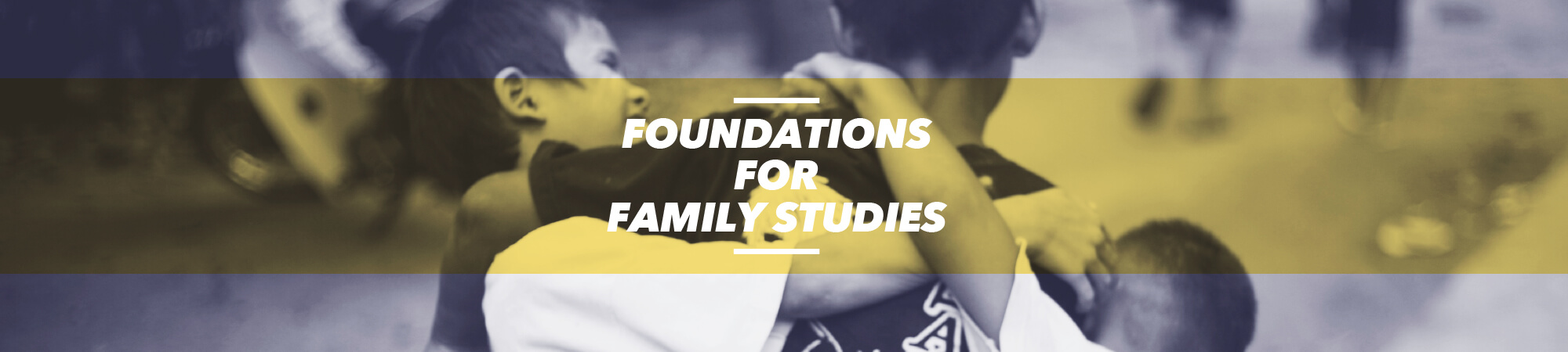 YWAM Worcester Foundations for Family Studies